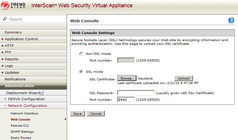 Replacing the IWSVA Admin Web Interface SSL Certificate | alpacapowered